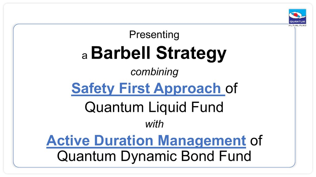 Presenting a Barbell Strategy combining Safety ...