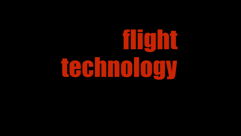 technology flight