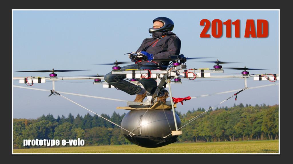 2011 AD prototype e-volo