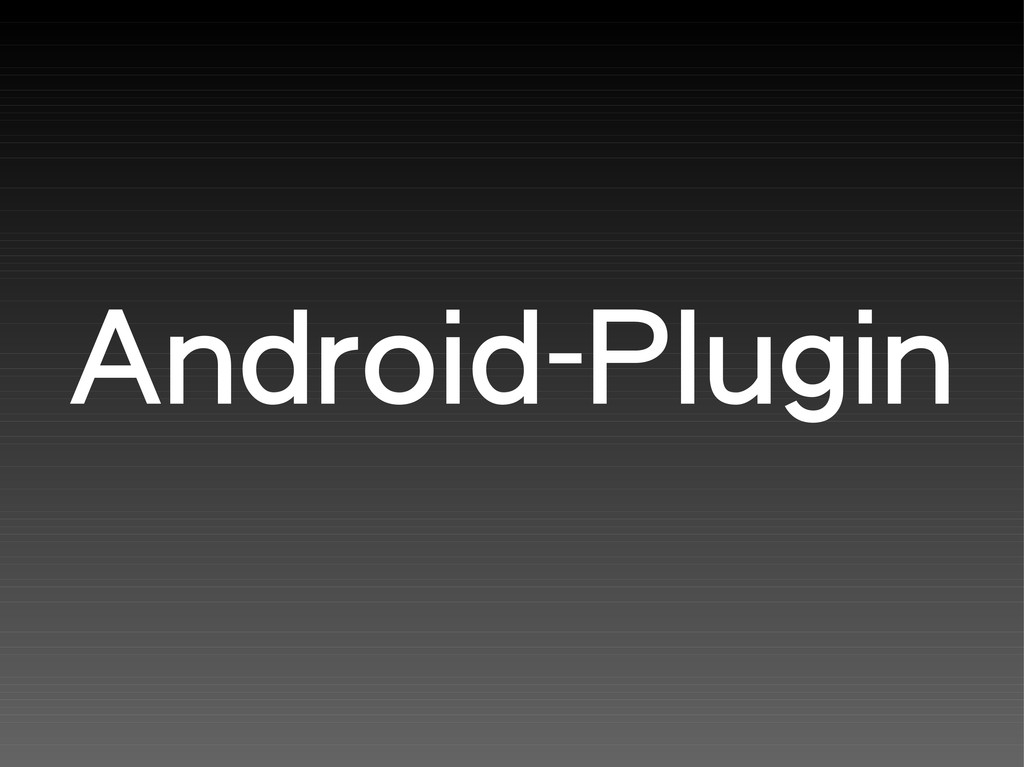 Android-Plugin