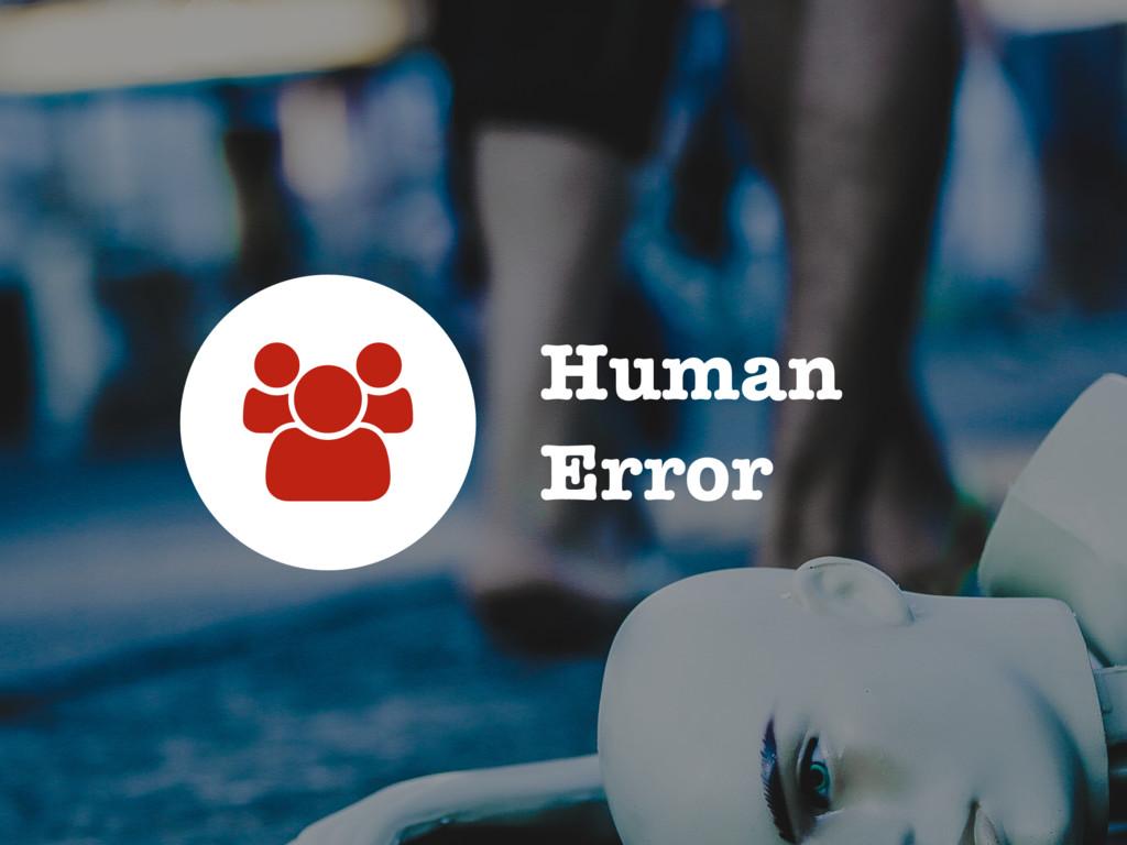 Human Error A