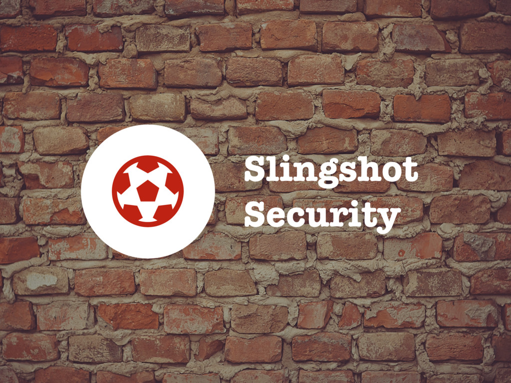 Slingshot Security B