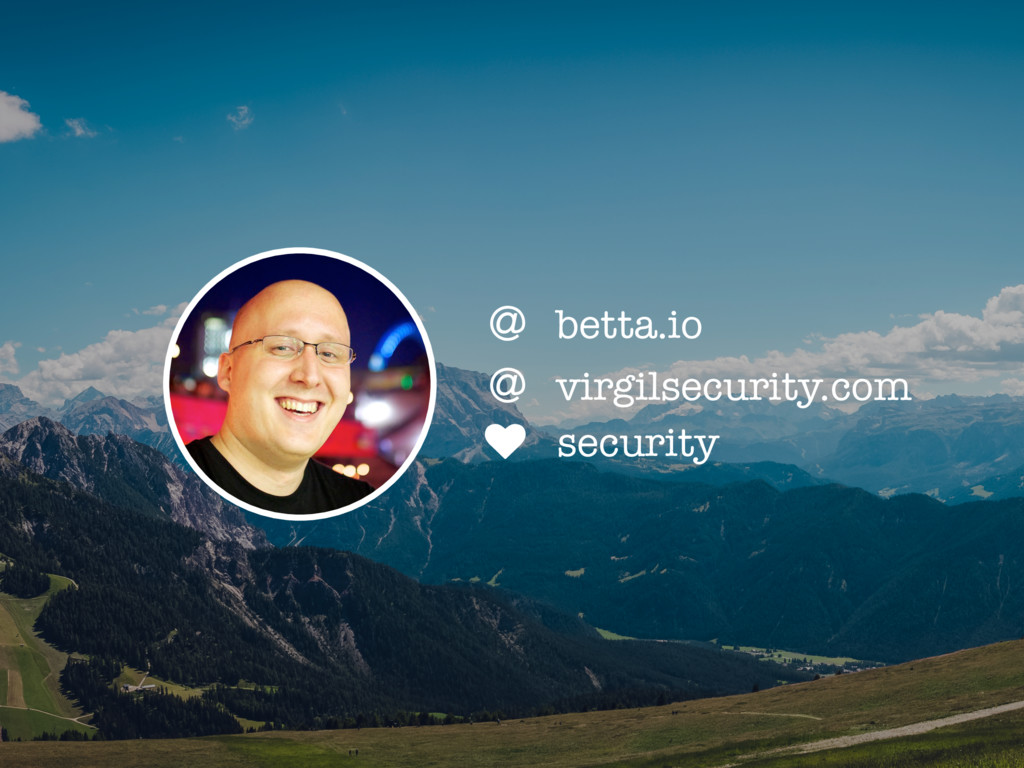 ♥ security + virgilsecurity.com + betta.io