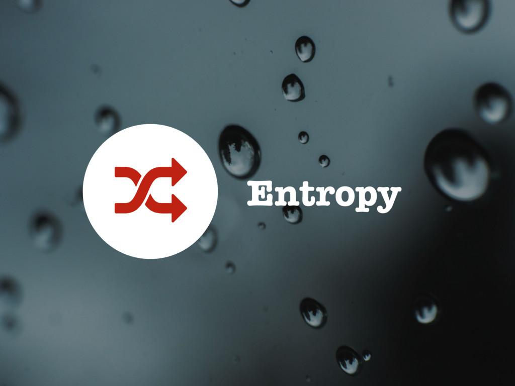 Entropy -