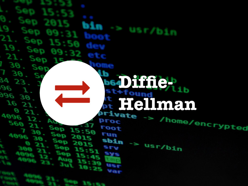 Diffie- Hellman 1