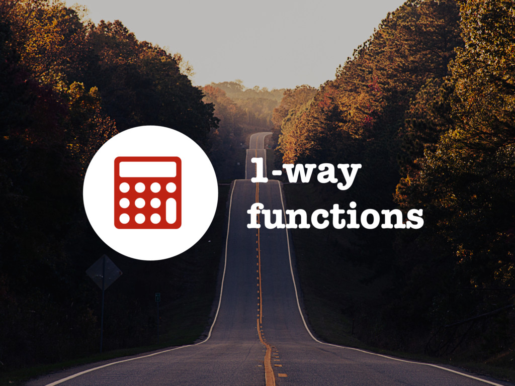 1-way functions 3