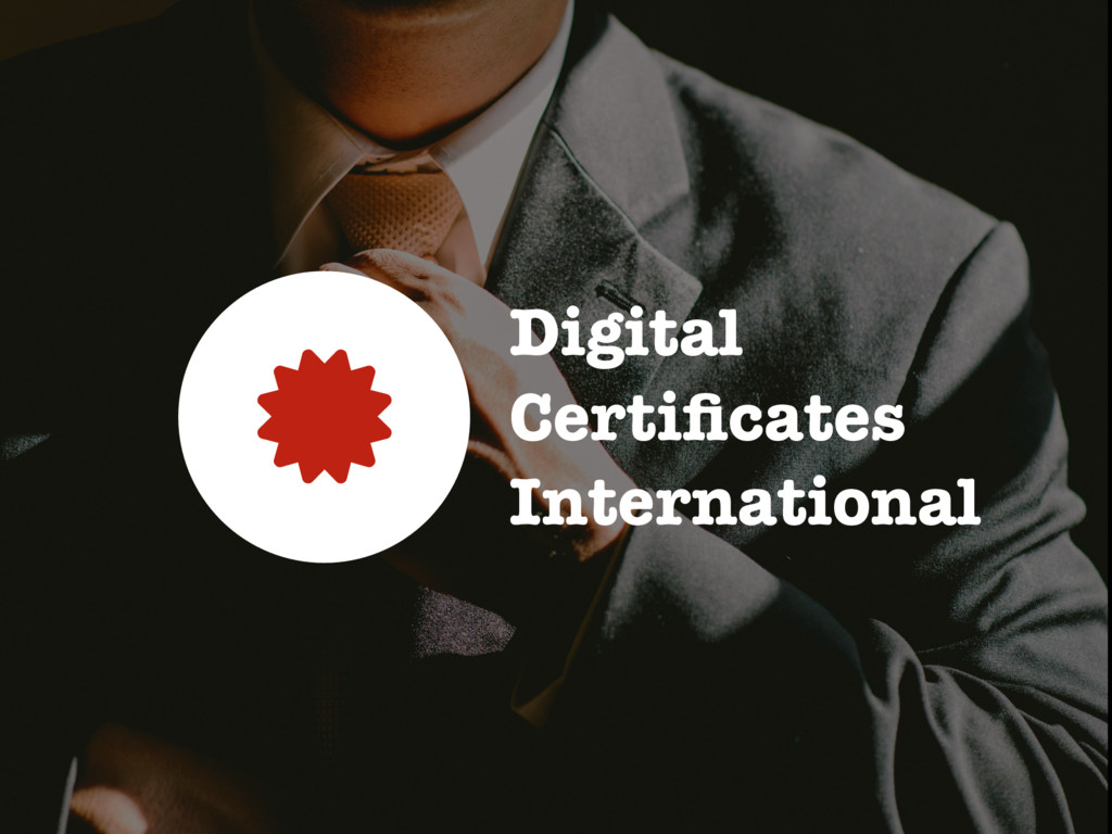 Digital Certificates International 0