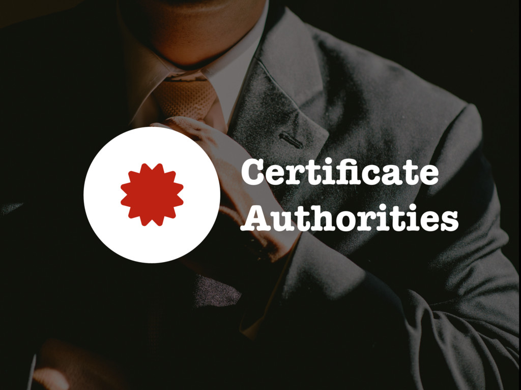Certificate Authorities 0