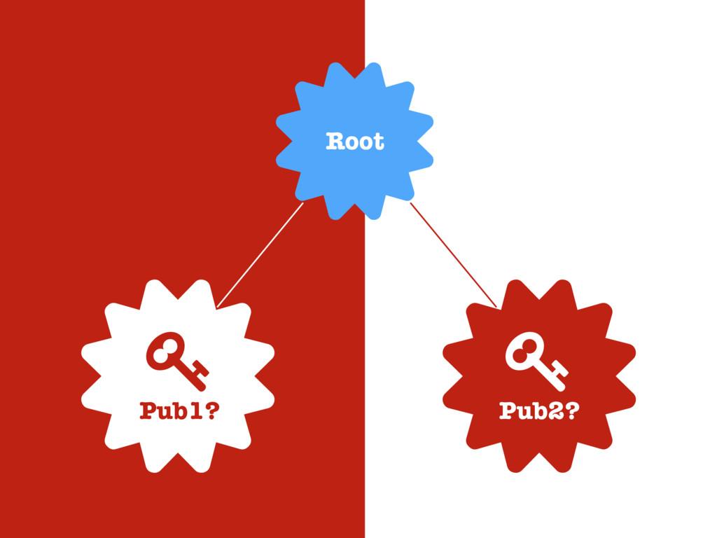 0 0 / Pub1? / Pub2? 0 Root