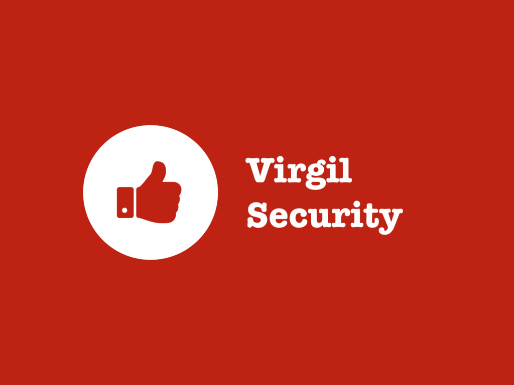 Virgil Security >