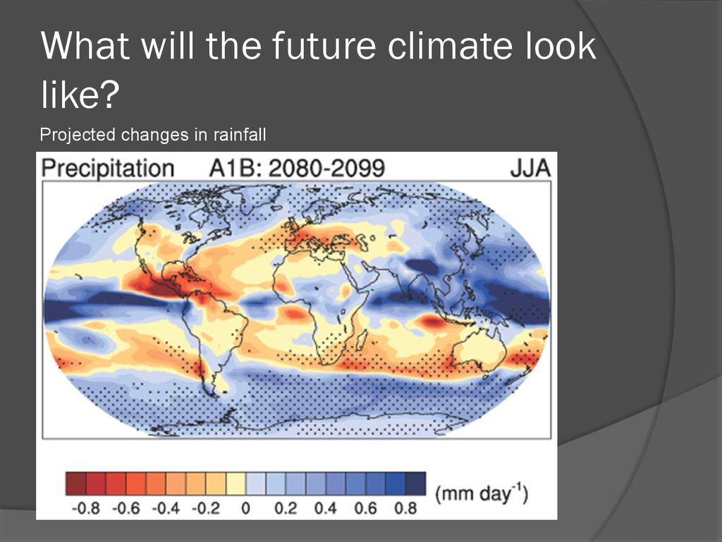 What will the future climate look like? Project...