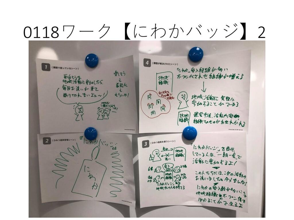 0118ワーク【にわかバッジ】2