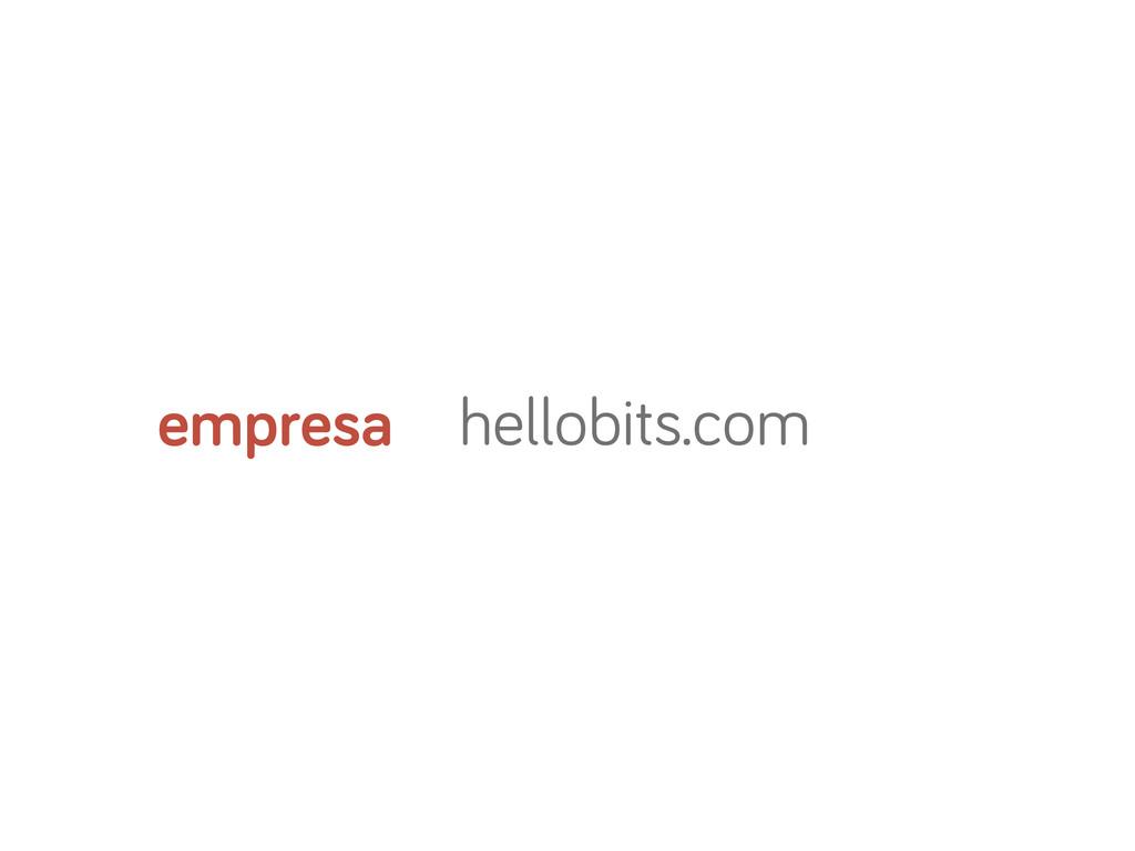 hellobits.com empresa