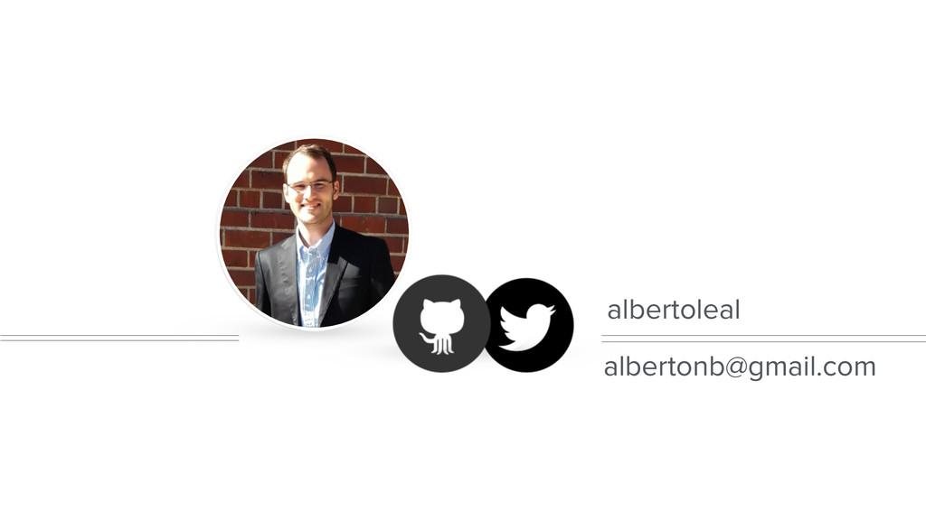 albertoleal albertonb@gmail.com