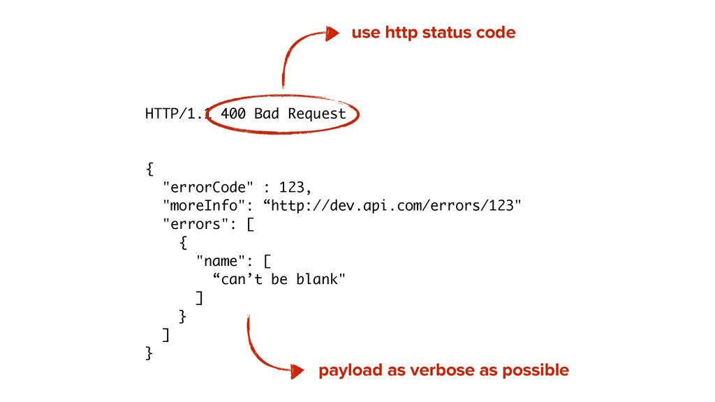 "HTTP/1.1 400 Bad Request ! ! { ""errorCode"" : 12..."