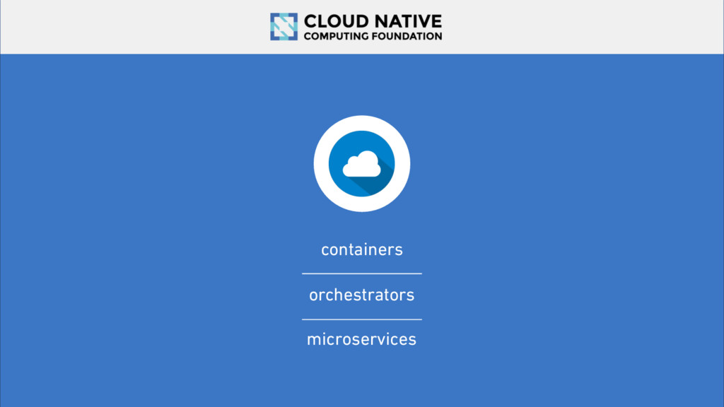 containers orchestrators microservices