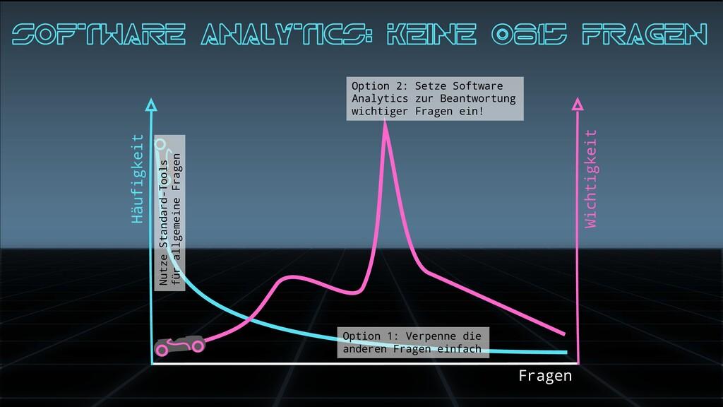 Häufigkeit Fragen Wichtigkeit Software analytic...