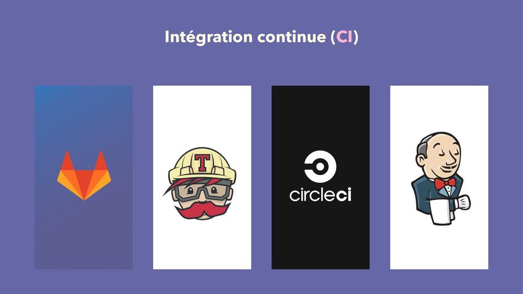 Intégration continue (CI)