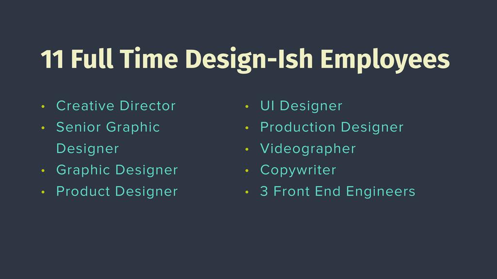 • Creative Director • Senior Graphic Designer •...