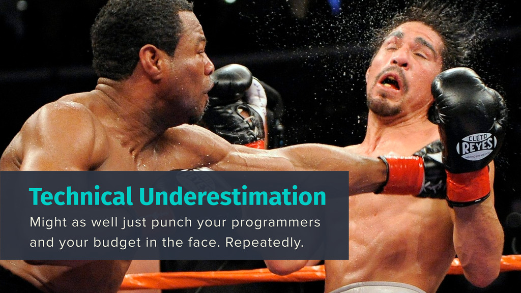 Technical Underestimation Might as well just pu...