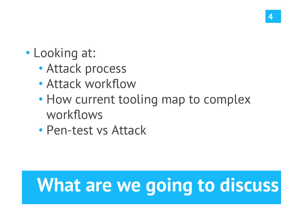 What are we going to discuss •Looking at: •At...