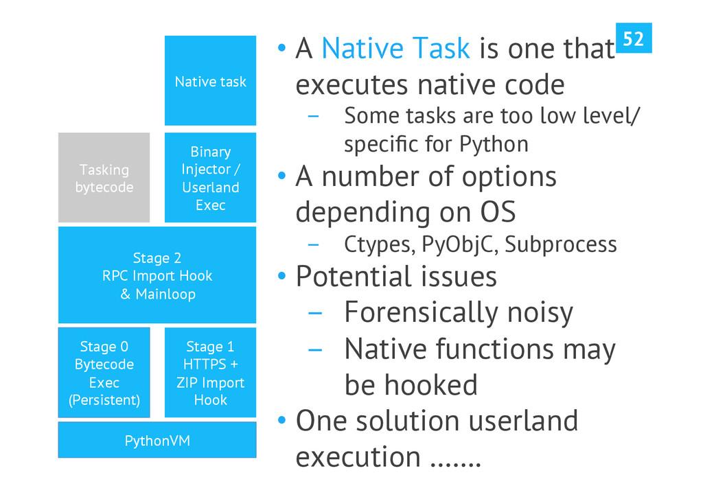 52 PythonVM Stage 0 Bytecode Exec (Persistent) ...