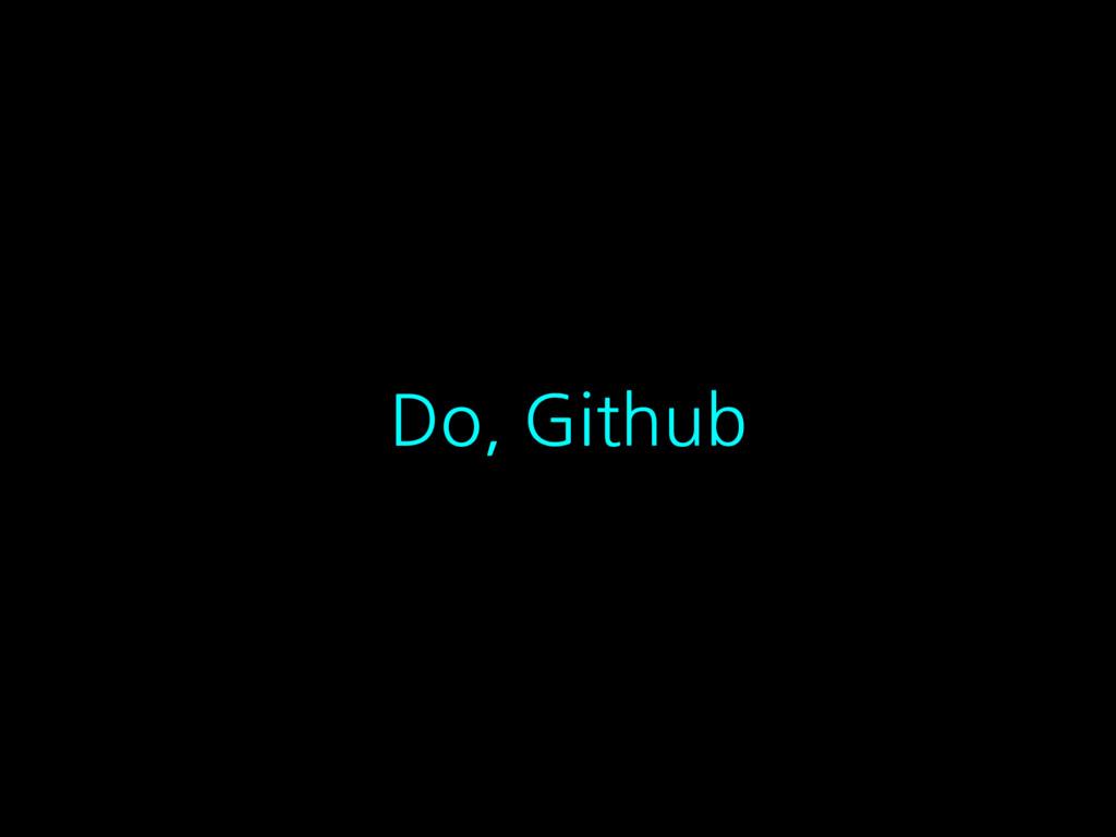 Do, Github