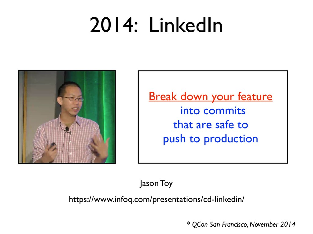 Break down your feature into commits that are s...