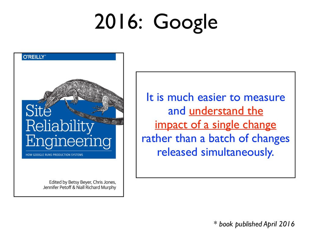 It is much easier to measure and understand the...