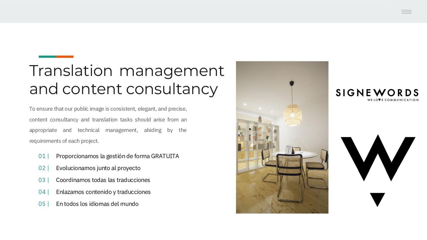 Translations & Content management We ensure tha...