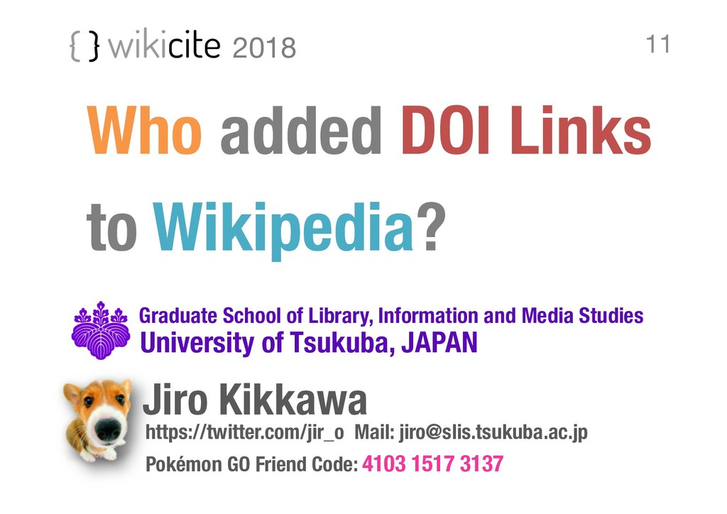 Who added DOI Links to Wikipedia? https://twitt...