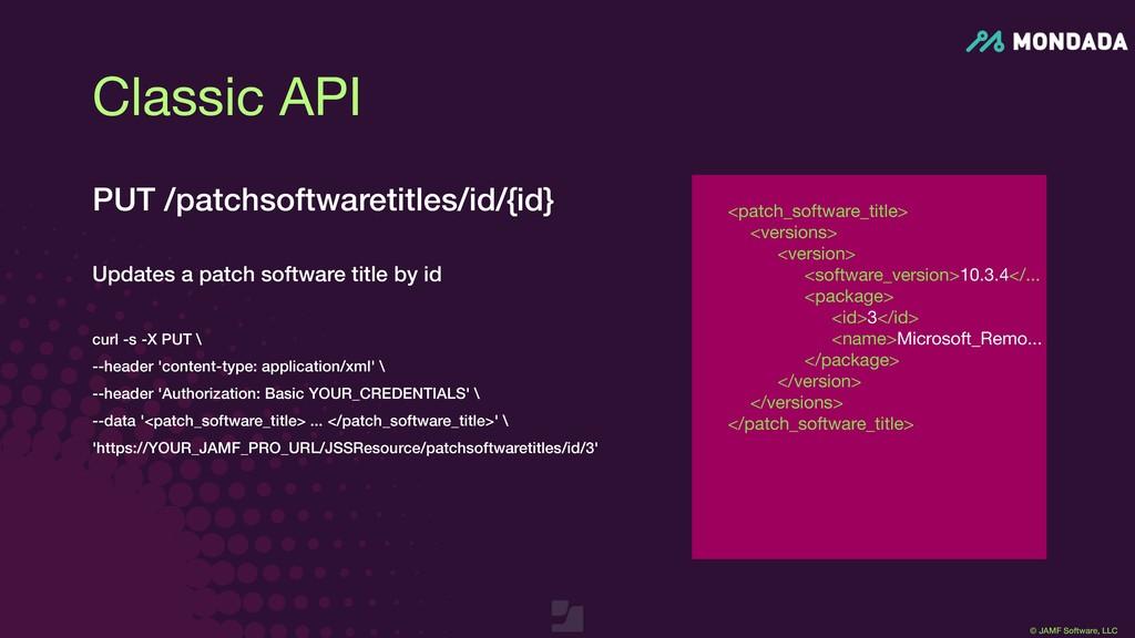 © JAMF Software, LLC <patch_software_title>  <v...