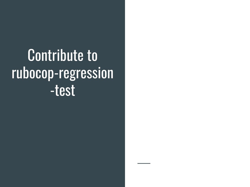 Contribute to rubocop-regression -test