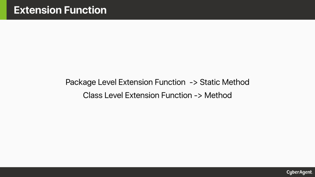 Extension Function Package Level Extension Func...