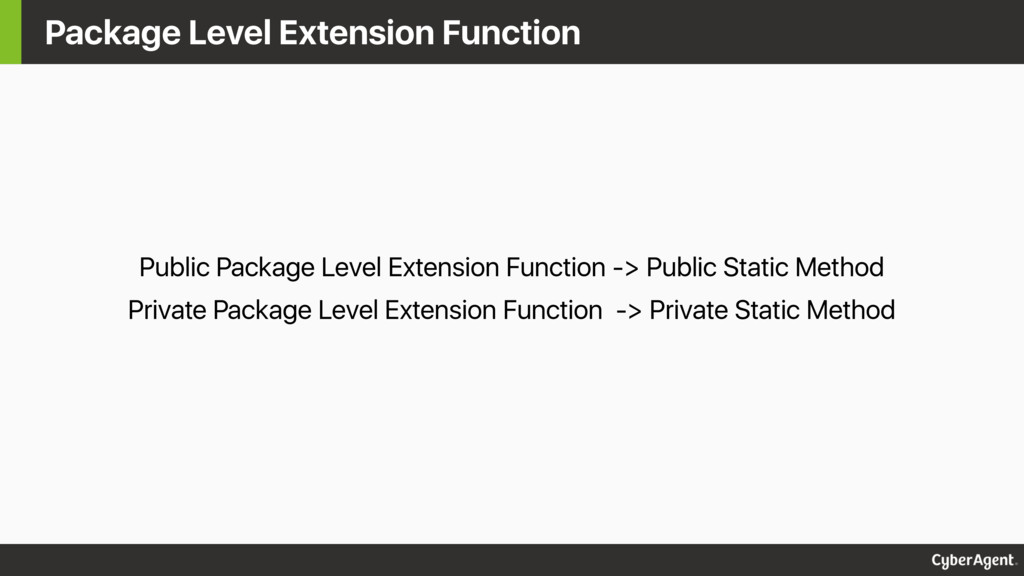 Package Level Extension Function Public Package...
