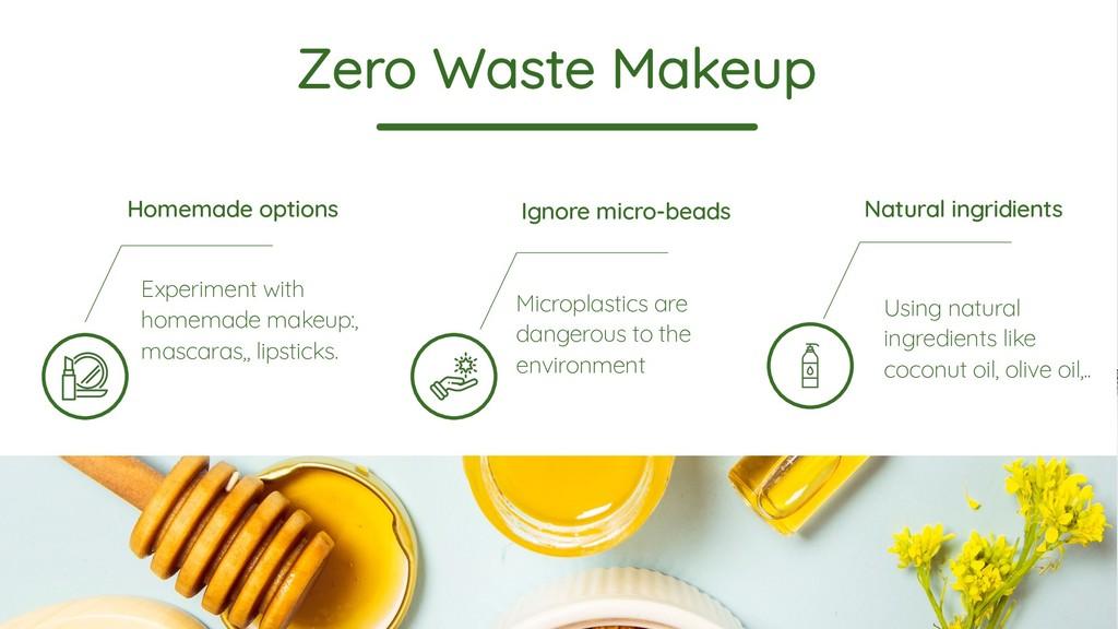 Zero Waste Makeup Homemade options Experiment w...