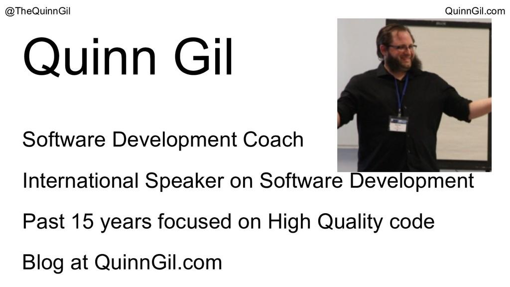 Quinn Gil Software Development Coach Internatio...