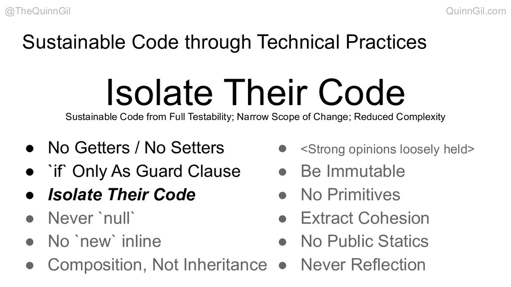 Sustainable Code through Technical Practices Is...