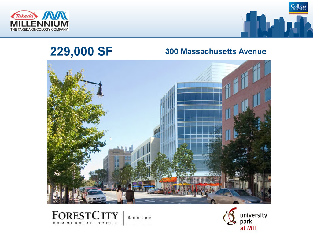 229,000 SF 300 Massachusetts Avenue