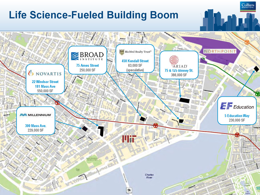 Life Science-Fueled Building Boom 30 75 & 125 B...