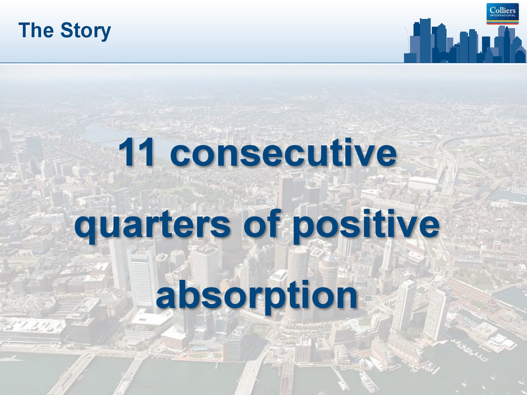 The Story 11 consecutive quarters of positive a...