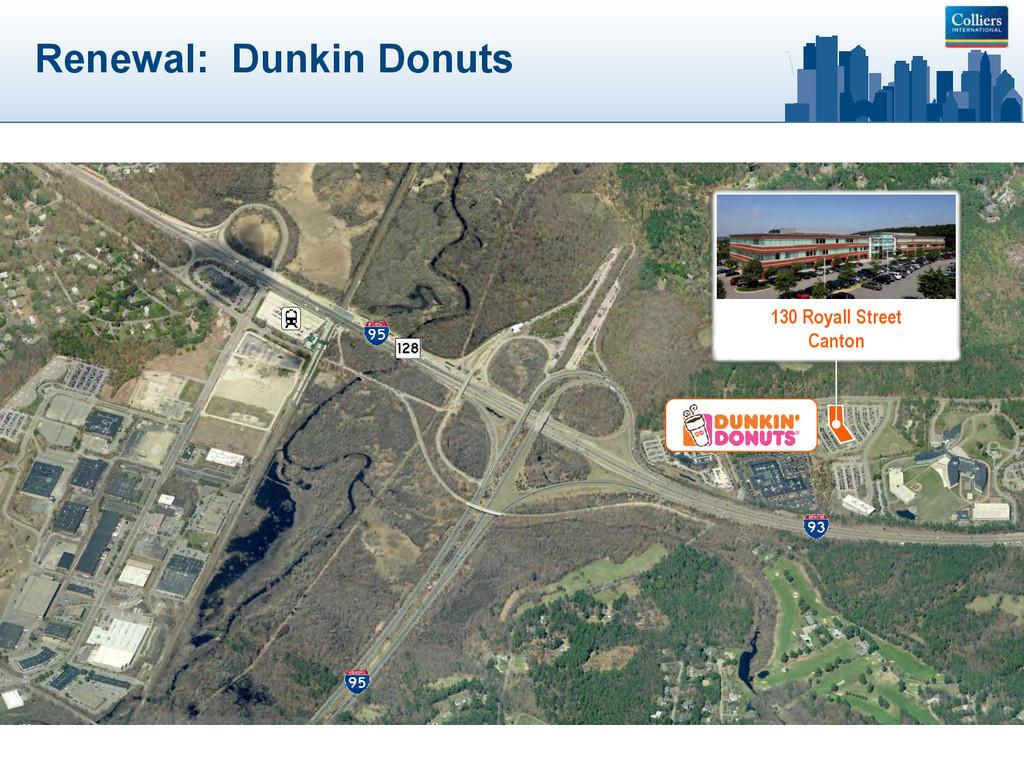 Renewal: Dunkin Donuts 130 Royall Street Canton
