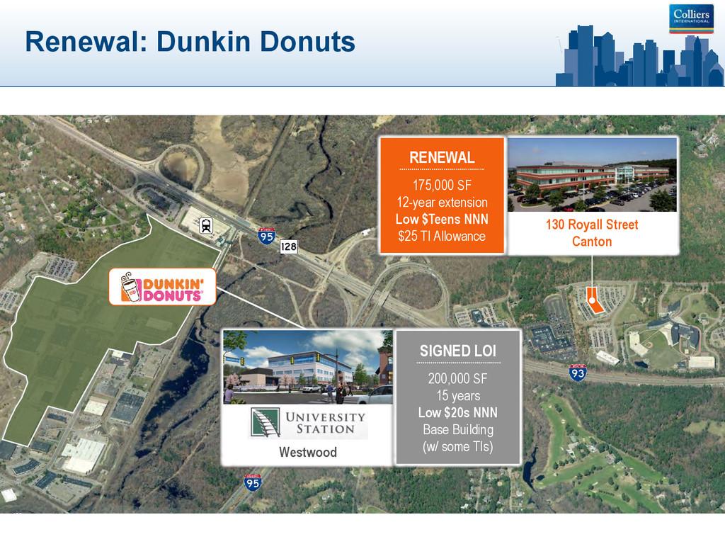 Renewal: Dunkin Donuts 130 Royall Street Canton...