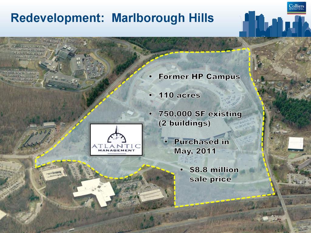 Redevelopment: Marlborough Hills