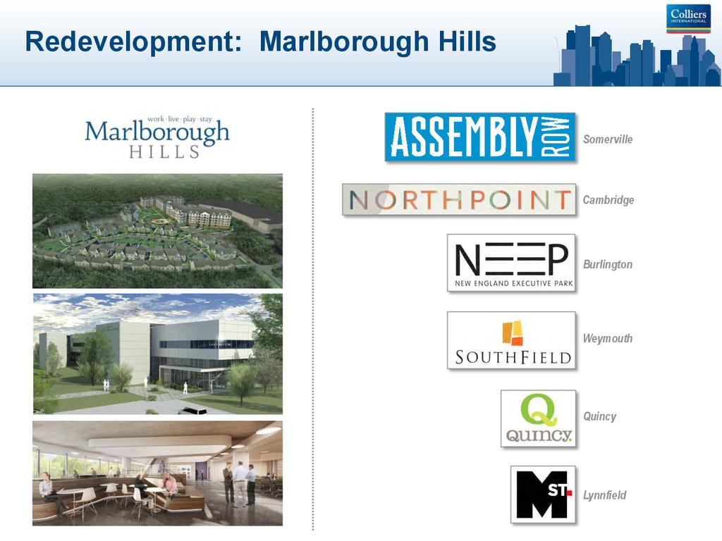 Redevelopment: Marlborough Hills Somerville Cam...