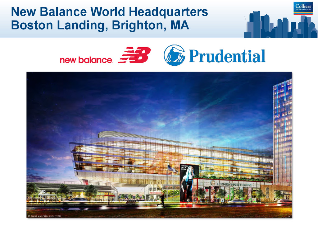 New Balance World Headquarters Boston Landing, ...