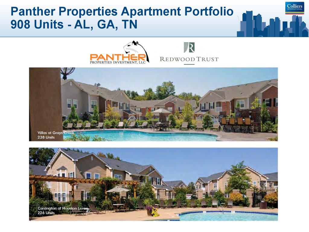 Panther Properties Apartment Portfolio 908 Unit...