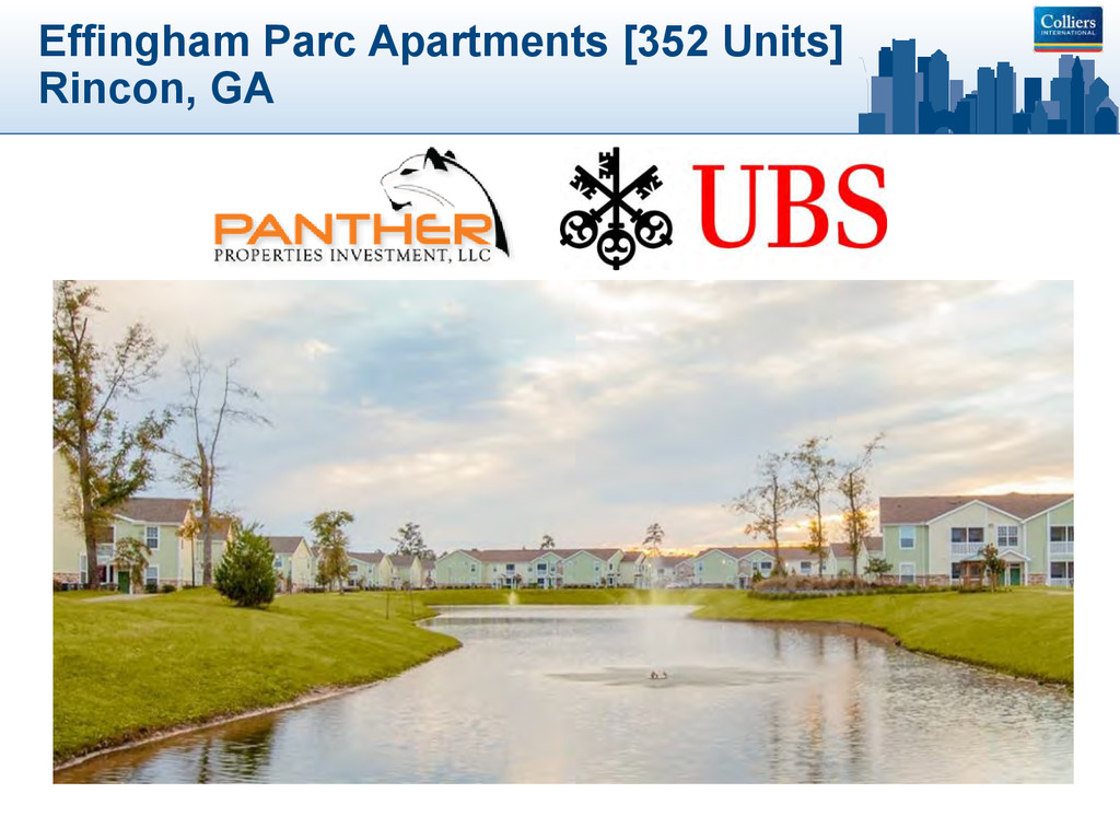 Effingham Parc Apartments [352 Units] Rincon, GA