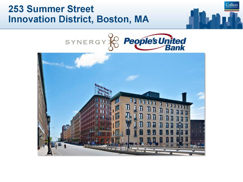 253 Summer Street Innovation District, Boston, ...