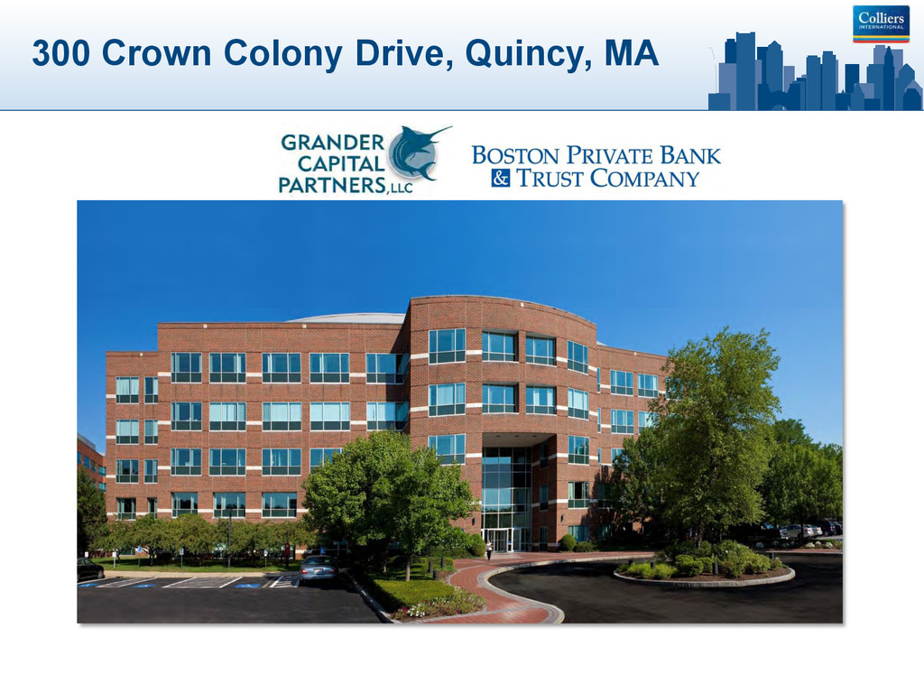 300 Crown Colony Drive, Quincy, MA